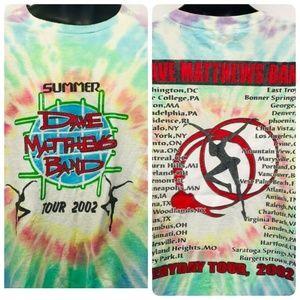 Dave Mathews Band '02 Concert Tour Shirt